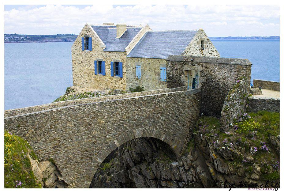 maison du gardien au fort de Berthaume - plougonvelin (29) By tranchig